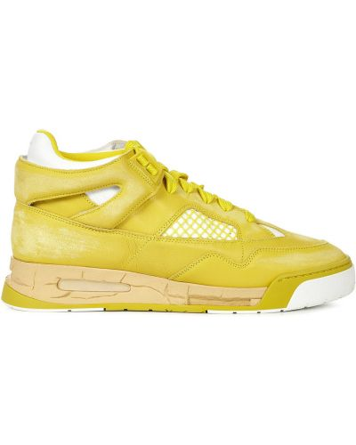 Żółte sneakersy Maison Margiela