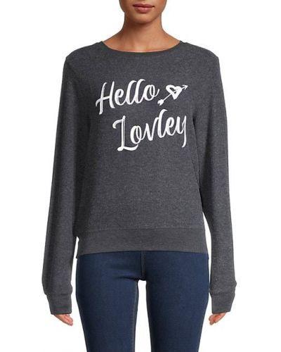 Повседневный пуловер с длинными рукавами Wildfox
