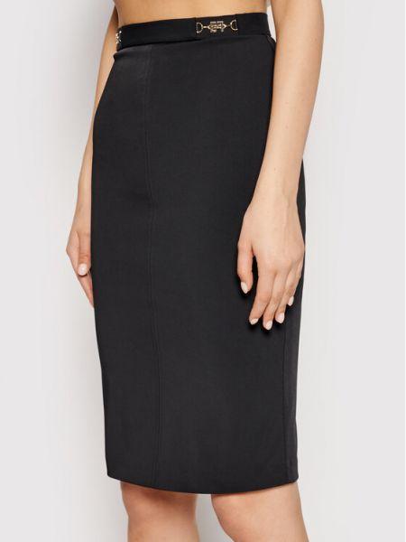 Czarna spódnica ołówkowa Elisabetta Franchi