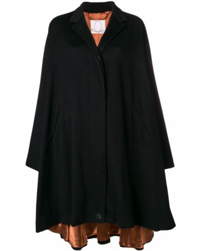 Черное пальто Romeo Gigli X Eggs