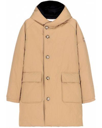 Brązowy płaszcz zimowy Oof Wear