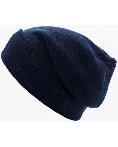 Синяя шапка осенняя Reebok Classics