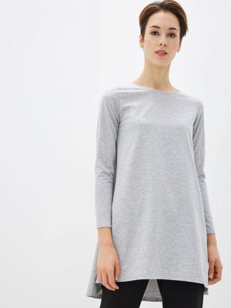 Платье серое прямое Numinou