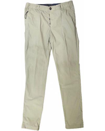 Beżowe spodnie casual Rrd