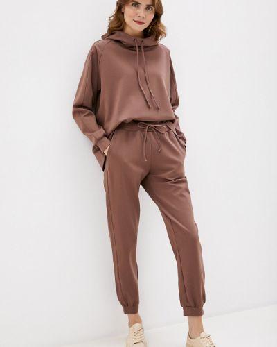 Костюмный коричневый спортивный костюм Trendyangel