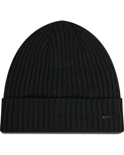 Czarna czapka z akrylu Barts