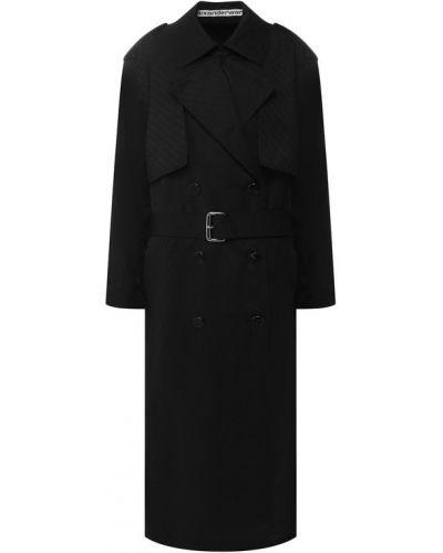 Пальто шерстяное пальто Alexander Wang