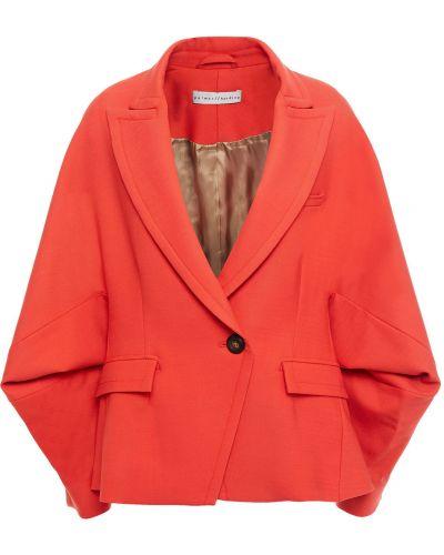 Шерстяной красный пиджак с карманами Palmer / Harding