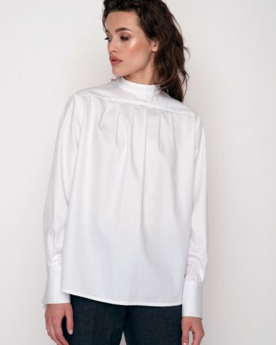 Блузка белая весенний Garmoniya