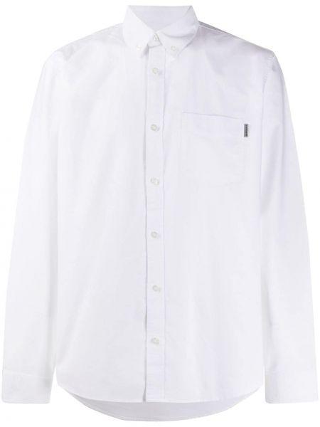 Рубашка с карманами с воротником узкого кроя на пуговицах Carhartt Wip