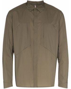 Зеленая нейлоновая куртка Veilance