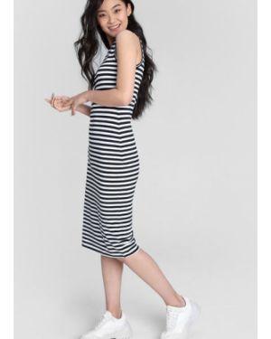 Платье миди платье-поло с принтом Ostin