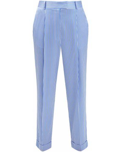 Прямые классические брюки стрейч из вискозы Ermanno Scervino