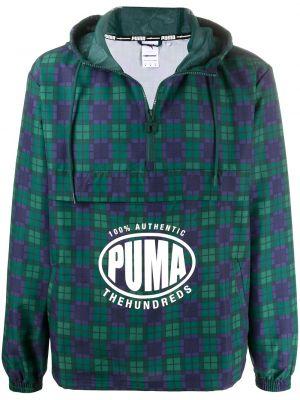 Anorak kurtka z kapturem z logo Puma