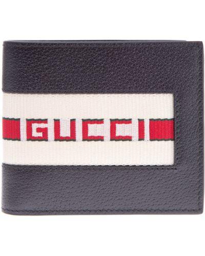 Кошелек кожаный итальянский Gucci