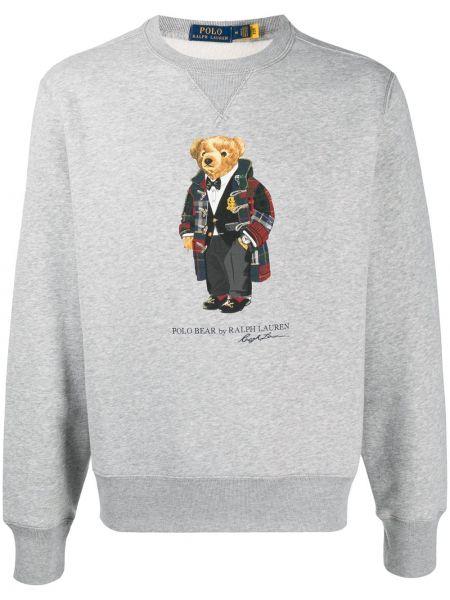 Światło bawełna bawełna koszulka polo z długimi rękawami Polo Ralph Lauren