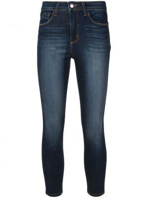 Зауженные джинсы - синие L'agence