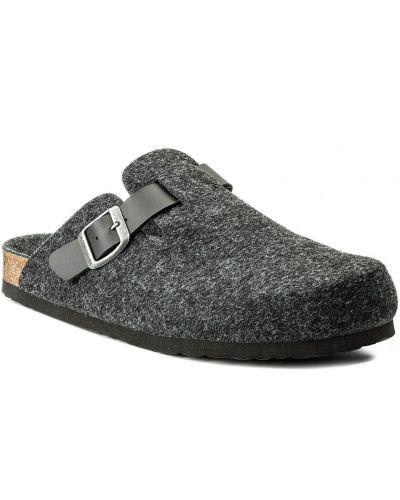 Sandały casual - szare Dr. Brinkmann