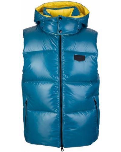 Niebieski płaszcz Duvetica