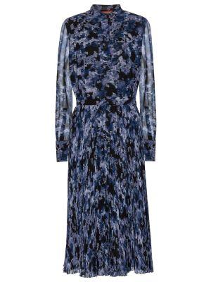 Синее платье миди Altuzarra