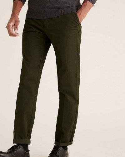 Зеленые брюки Marks & Spencer