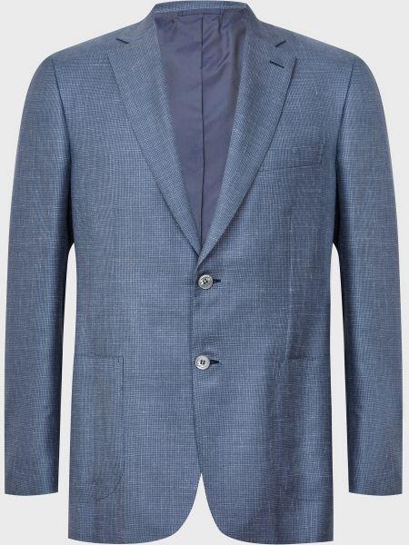 Кашемировый пиджак - серый Brioni