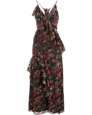 Платье миди на бретелях с V-образным вырезом Jill Jill Stuart