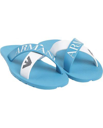 Пляжные шлепанцы Armani Junior