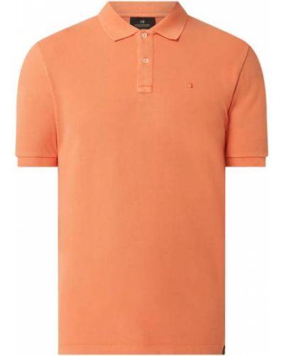 Pomarańczowy t-shirt bawełniany Scotch & Soda