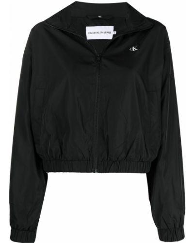 Длинная куртка - черная Ck Calvin Klein