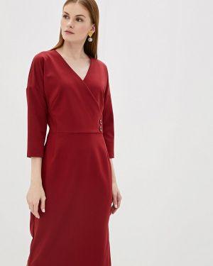 Вечернее платье бордовый красный Likadis