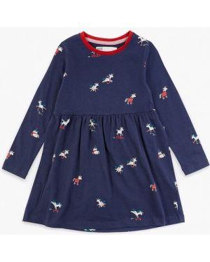 Синее платье Marks & Spencer