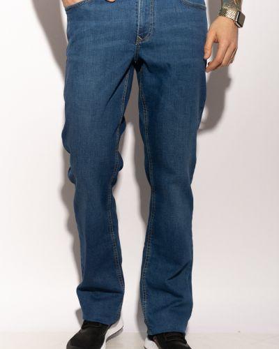 Прямые джинсы - синие Time Of Style