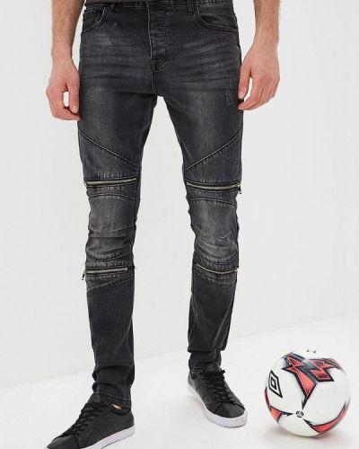 Черные джинсы-скинни Terance Kole