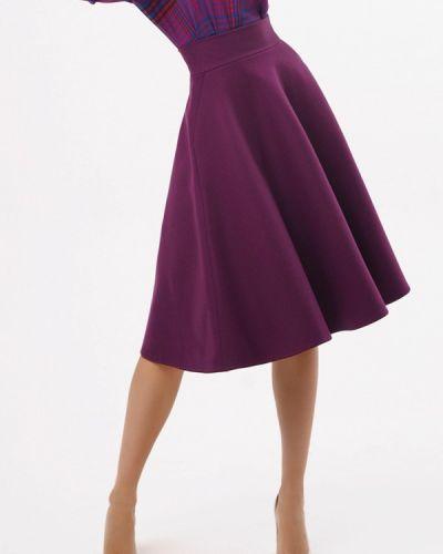 Фиолетовая юбка свободного кроя A'tani