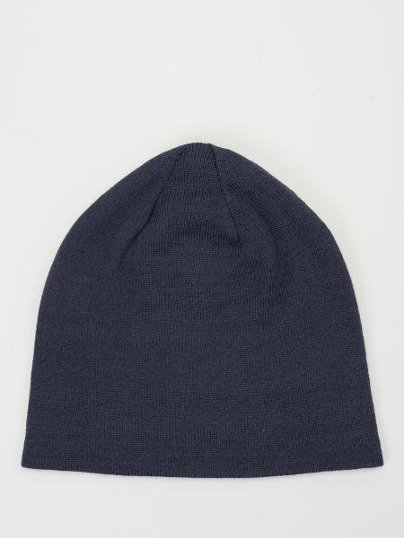Шерстяная шапка - синяя The North Face