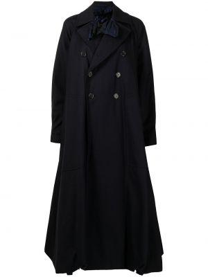 Черное пальто длинное Comme Des Garçons Noir Kei Ninomiya