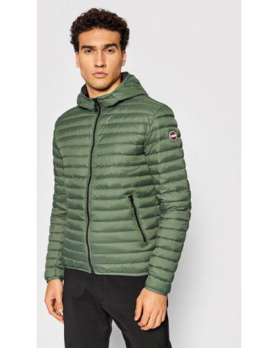 Zielona kurtka puchowa Colmar