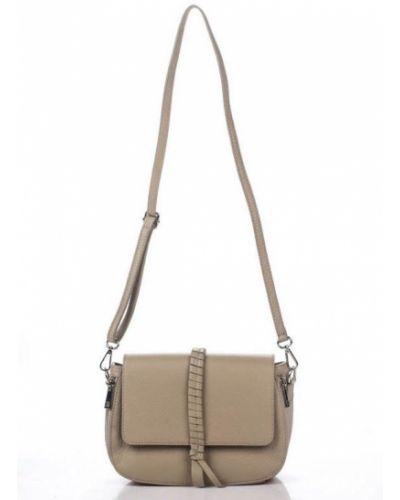 Кожаная сумка - бежевая Amelie Pelletteria