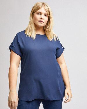 Блузка синяя Dorothy Perkins Curve
