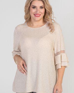 Блузка с люрексом прямая Luxury