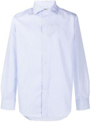 Koszula z długim rękawem klasyczna z paskami Canali