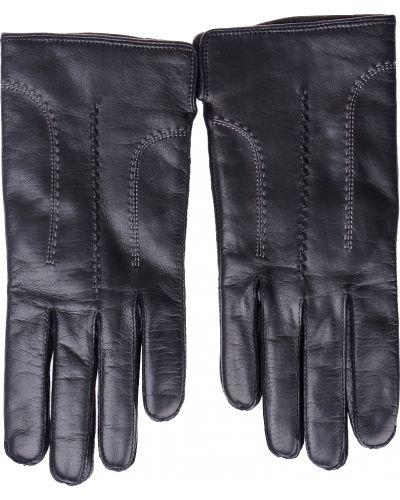 Кожаные перчатки - черные Parola