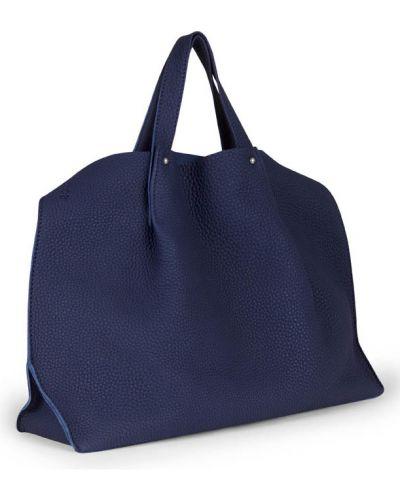 Кожаная сумка шоппер маленькая Ecco