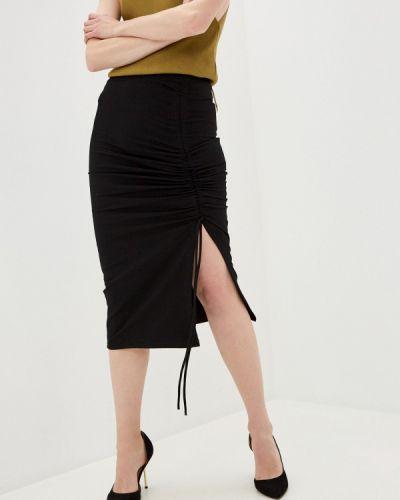 Черная юбка узкого кроя By Swan