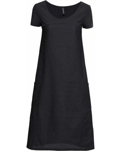 Черное платье миди Bonprix