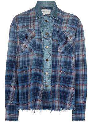 Niebieskie klasyczne jeansy Greg Lauren