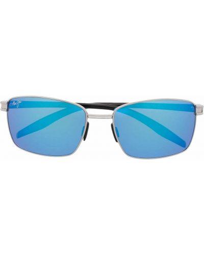 Солнцезащитные очки металлические - черные Maui Jim