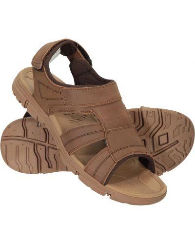Sandały w paski - brązowe Mountain Warehouse