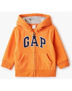 Свитшот оранжевый Gap